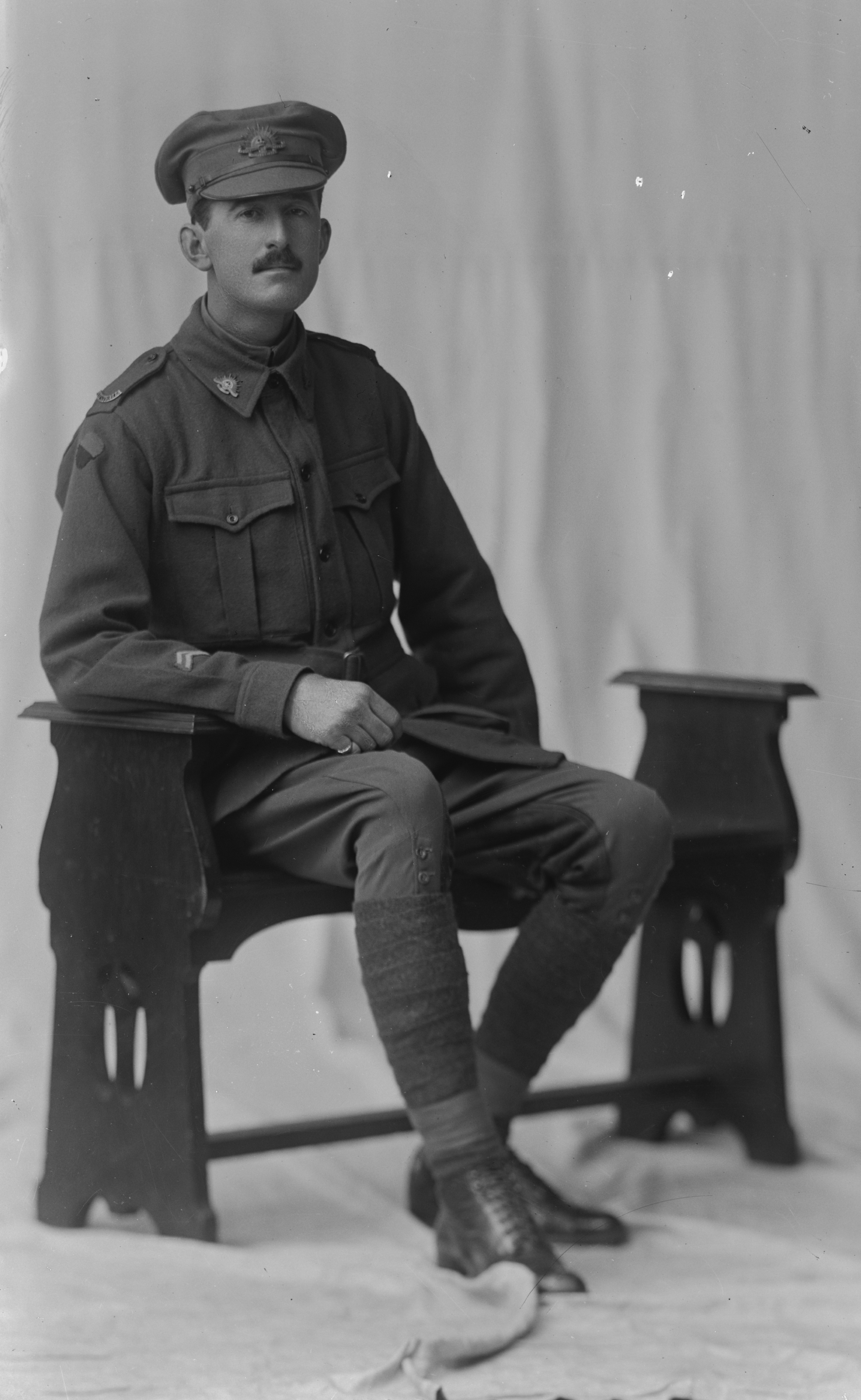 Photographed at the Dease Studio, 117 Barrack Street Perth WA Image courtesy of the State Library of Western Australia: 108533PD