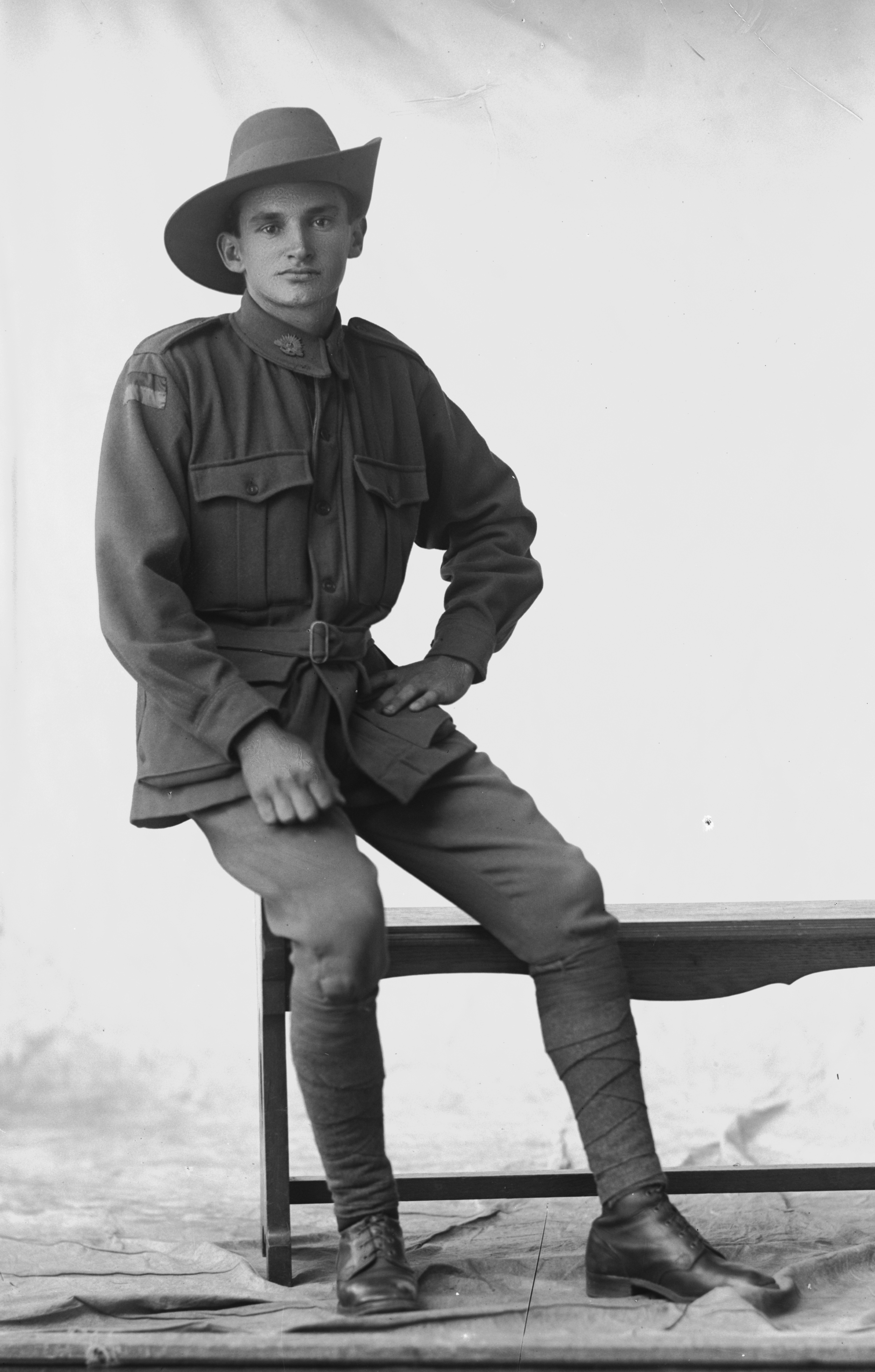 Photographed at the Dease Studio, 117 Barrack Street Perth WA   Image courtesy of the State Library of Western Australia:  108542PD