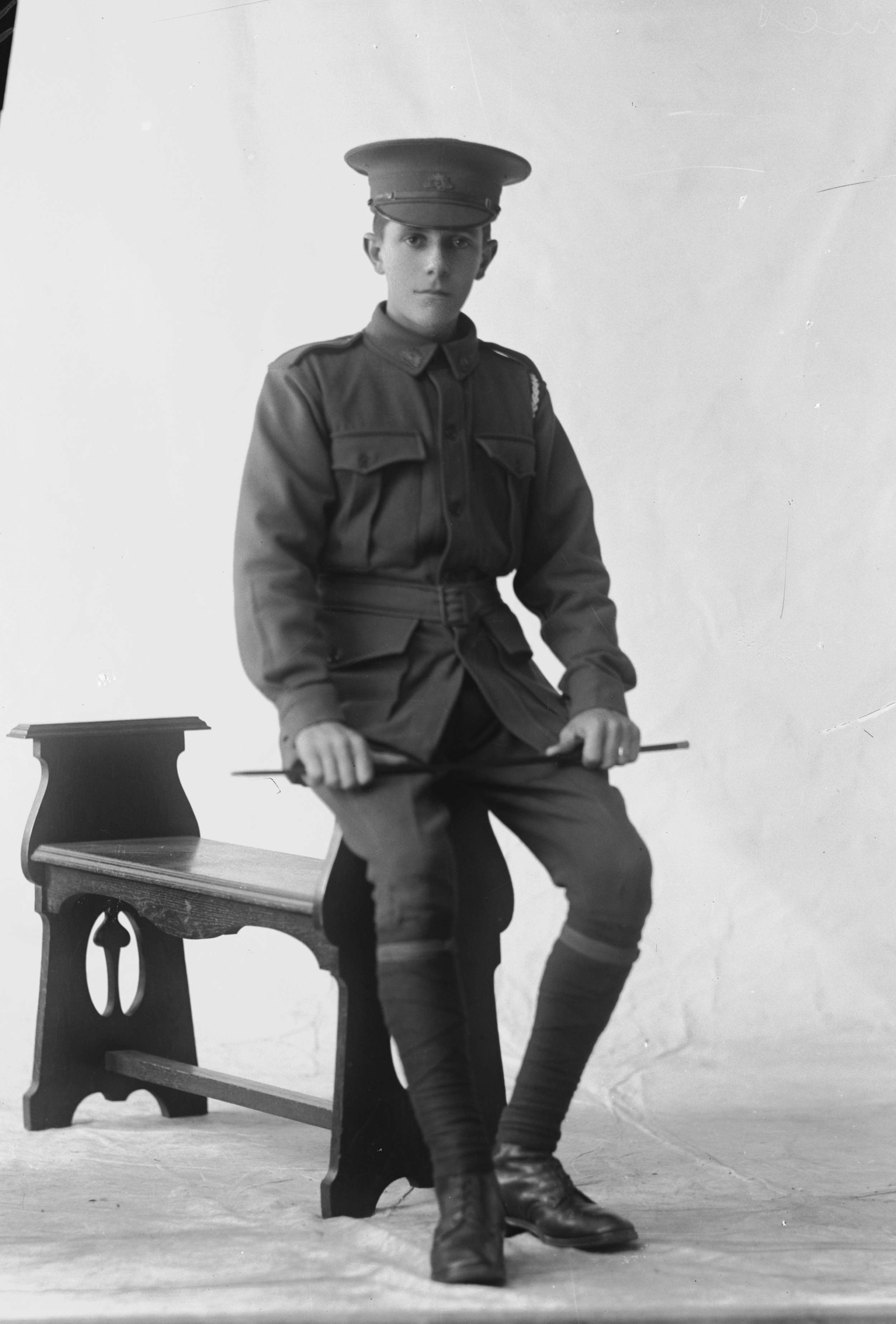 Photographed at the Dease Studio, 117 Barrack Street Perth WA Image courtesy of the State Library of Western Australia: 108726PD