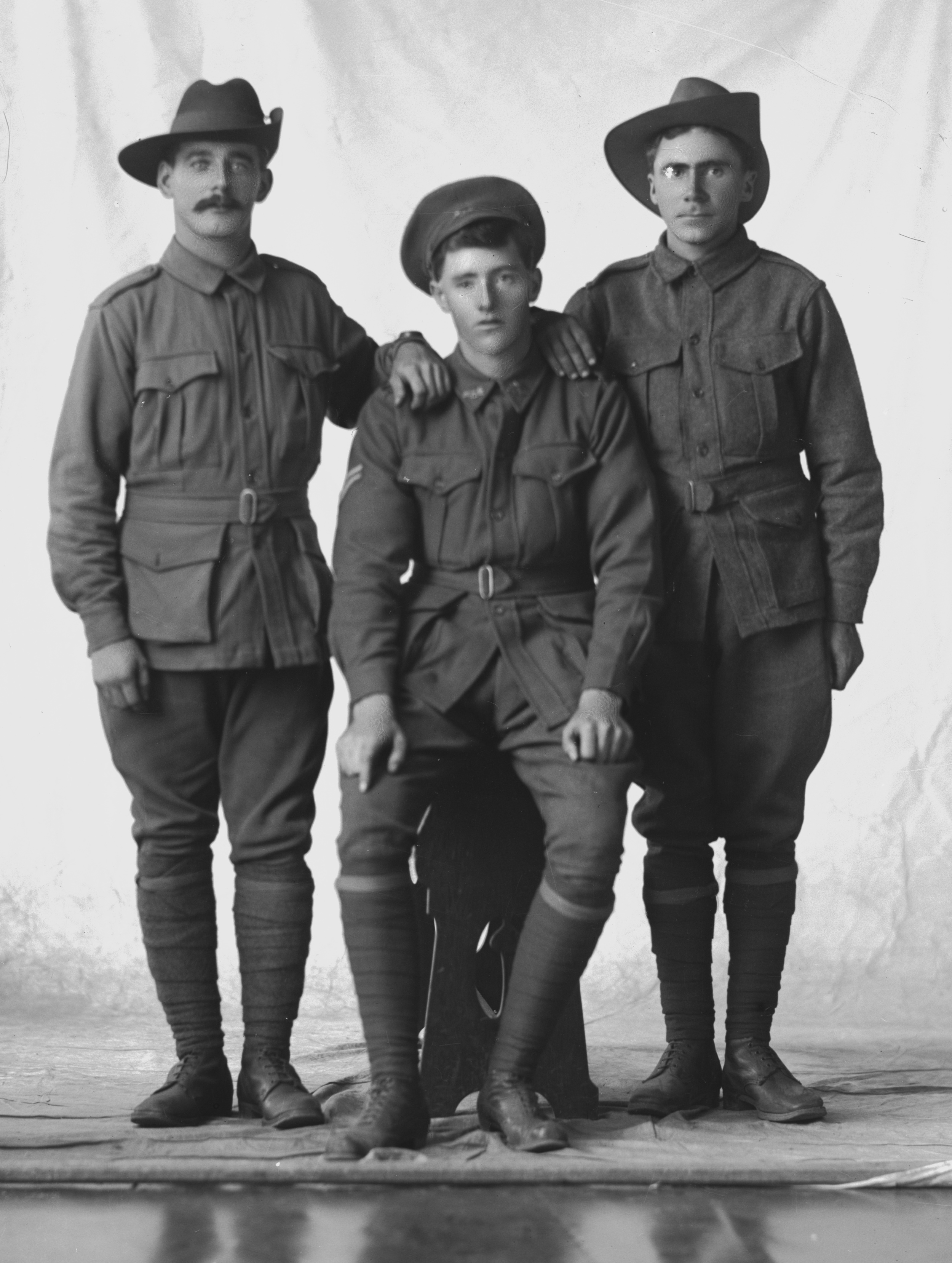 Photographed at the Dease Studio, 117 Barrack Street Perth WA Image courtesy of the State Library of Western Australia: 108547PD