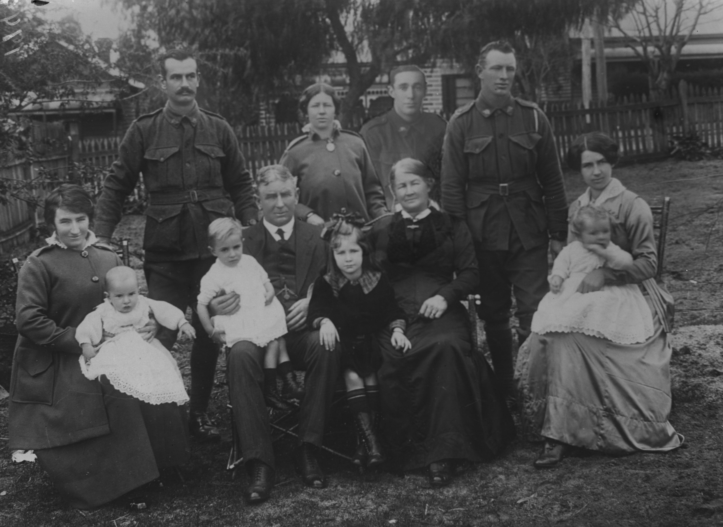 Photographed at the Dease Studio, 117 Barrack Street Perth WA   Image courtesy of the State Library of Western Australia:  108702PD