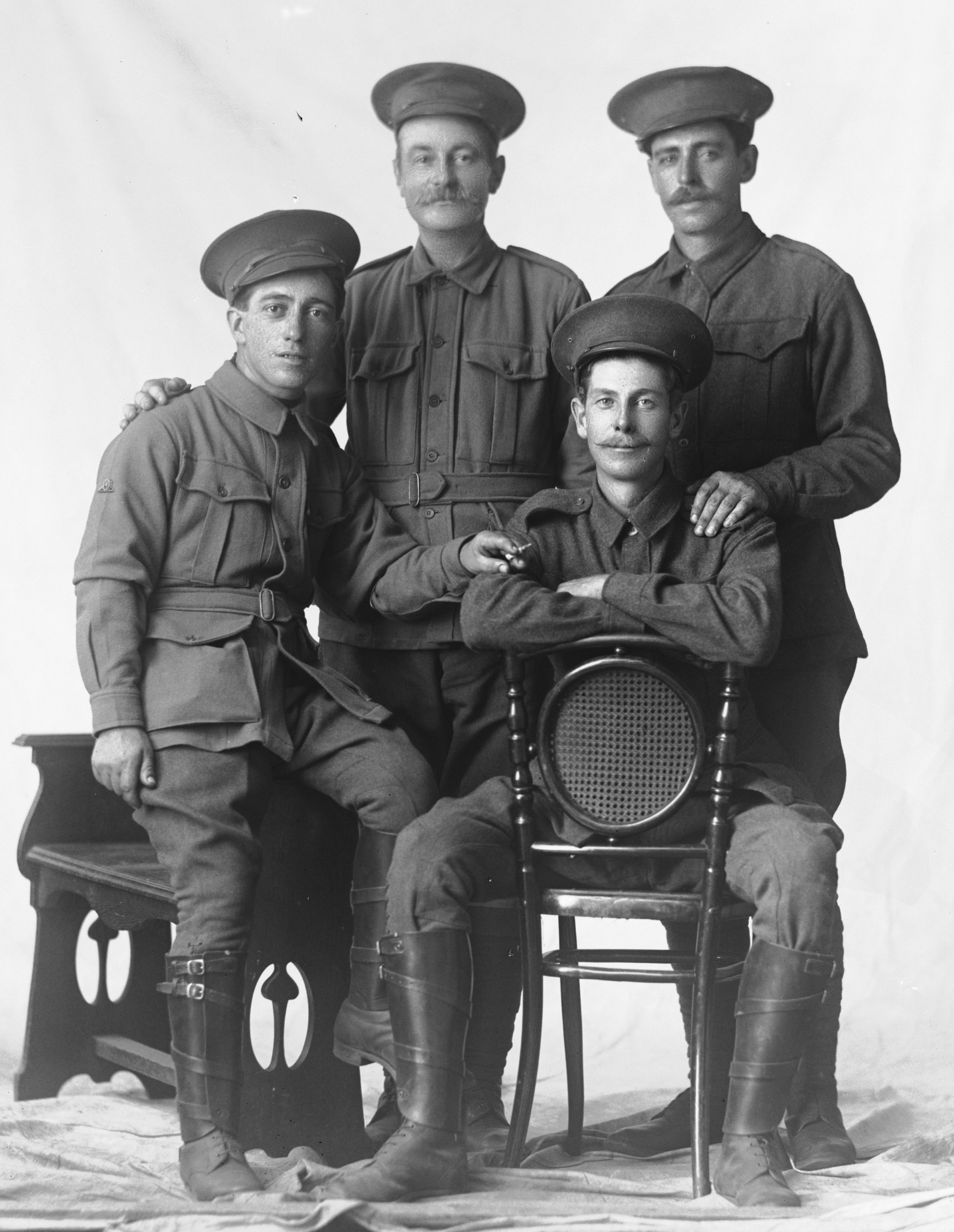 Photographed at the Dease Studio, 117 Barrack Street Perth WA Image courtesy of the State Library of Western Australia:108137PD