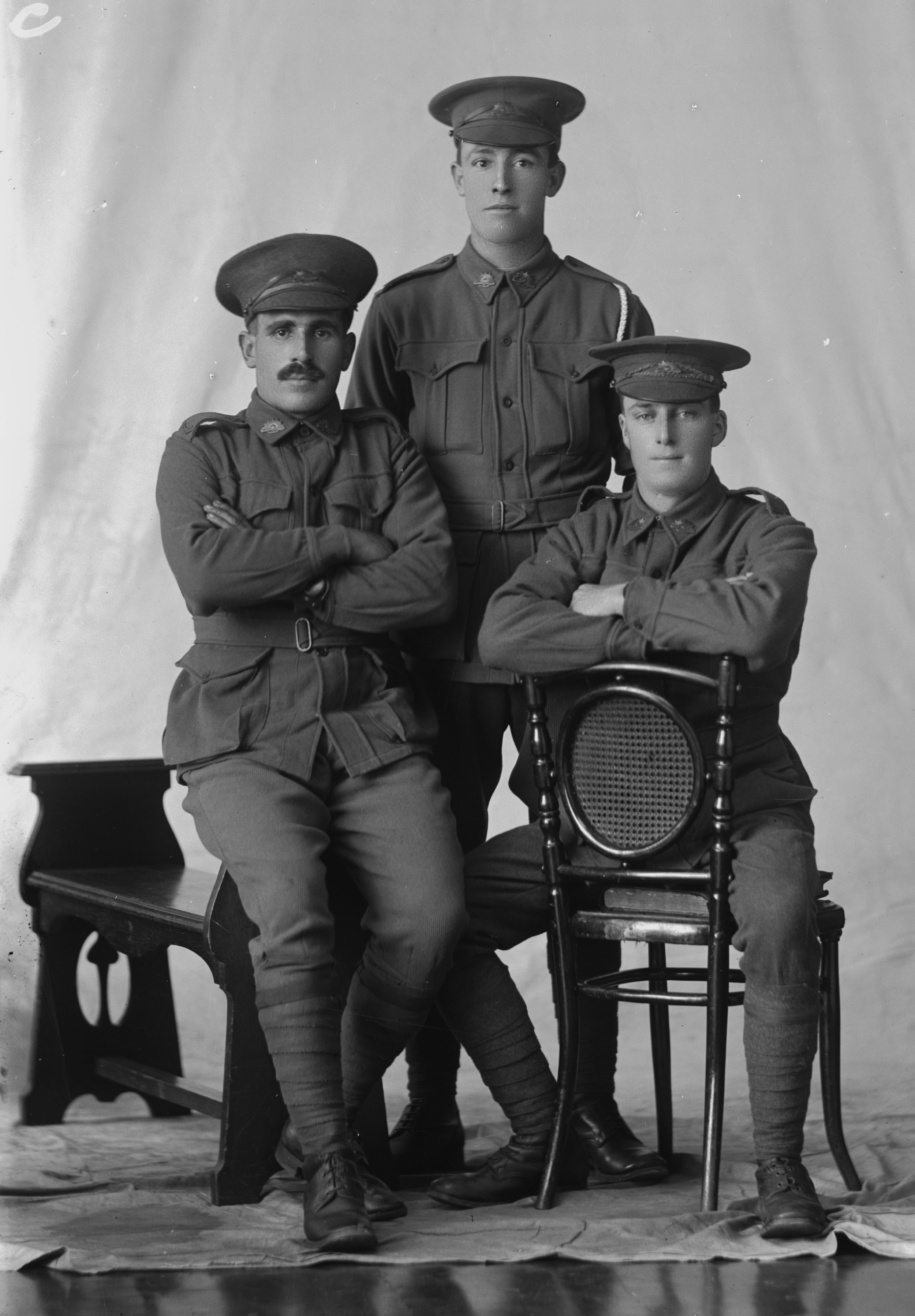 Photographed at the Dease Studio, 117 Barrack Street Perth WA Image courtesy of the State Library of Western Australia: 108389PD