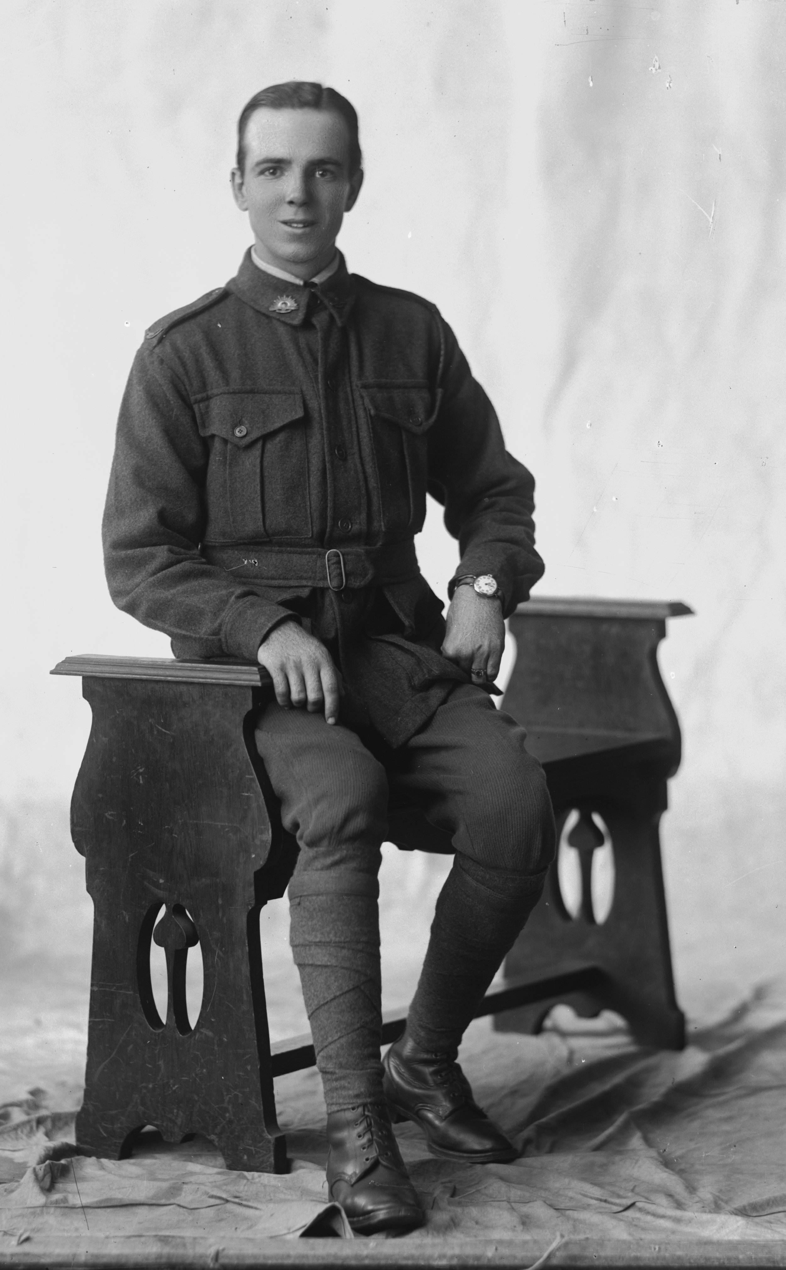 Photographed at the Dease Studio, 117 Barrack Street Perth WA Image courtesy of the State Library of Western Australia: 108395PD