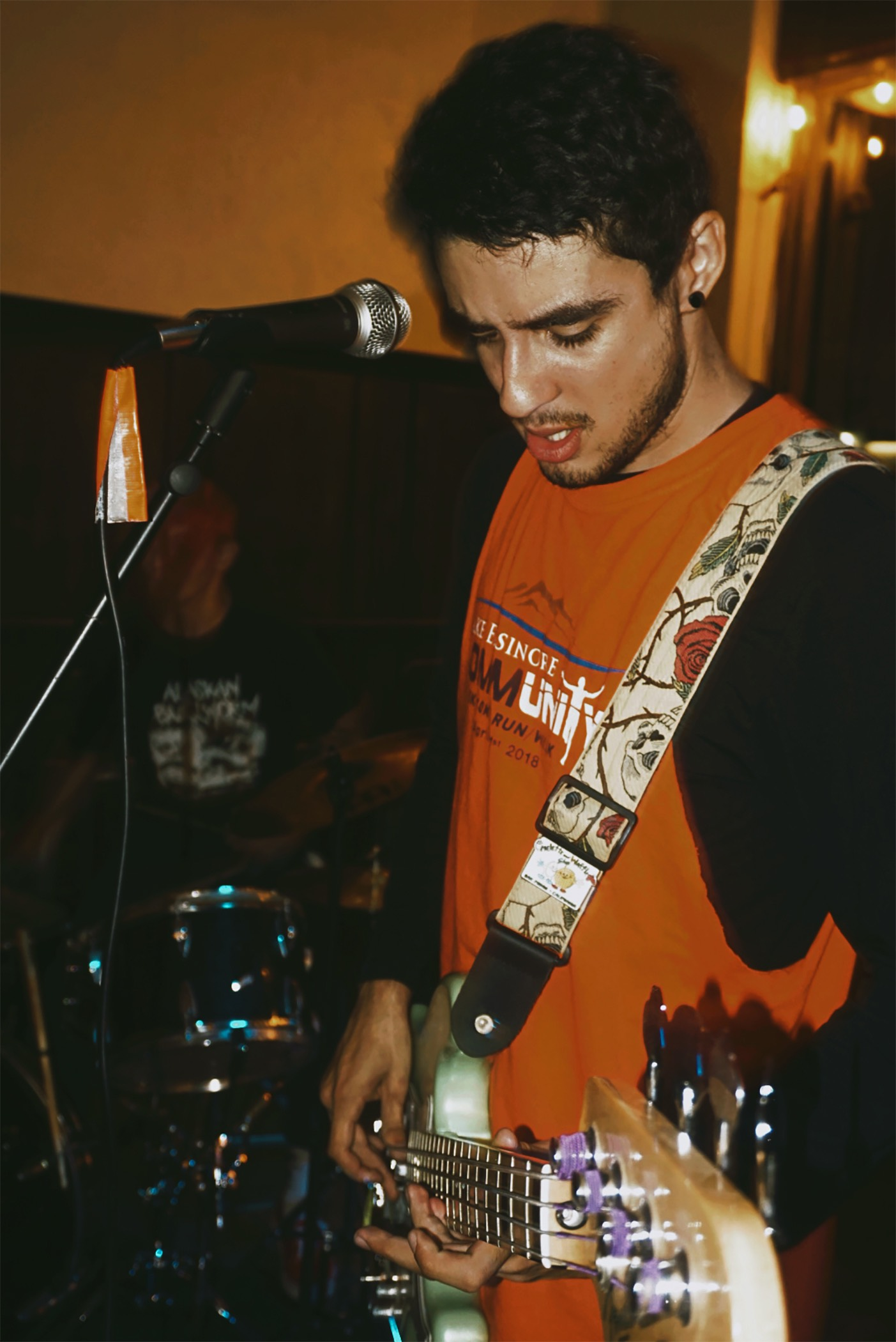 Carmine is an extreme expressionist; writing music that pushes himself and his art to be as unique and in-your-face as possible.