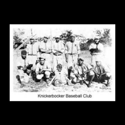 The Knickerbocker Baseball Club