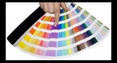 A PMS fan, of color matching swatches