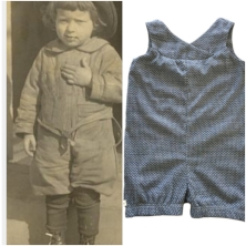 A child's play clothes or romper