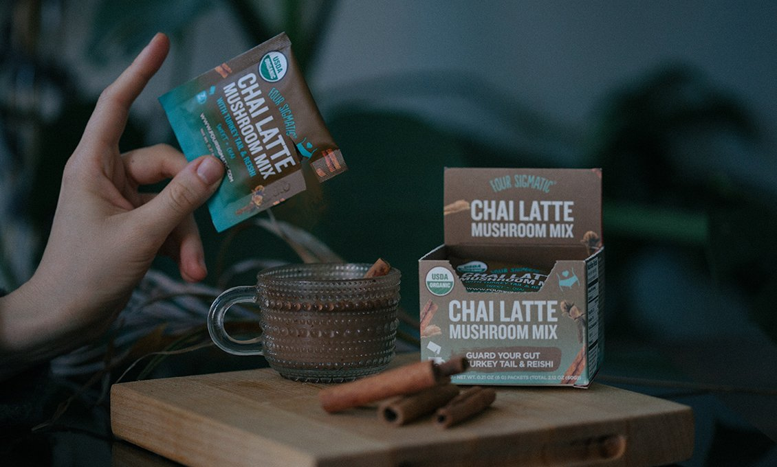 Chai Latte Mushroom Mix