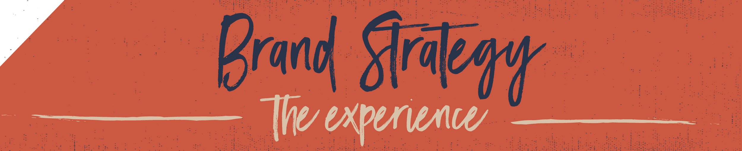 Brand Strategy The Experience