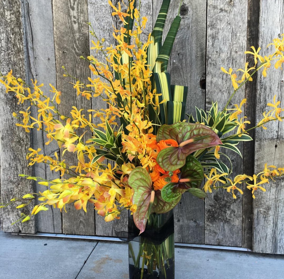 14. Tall Exotic Arrangement