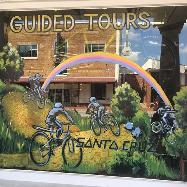 Thank you to #brandonbulletteart for making our space look so great! Come see the newest Downtown Bentonville art installations at Phat Tire Bike Shop! Follow the yellow brick road!