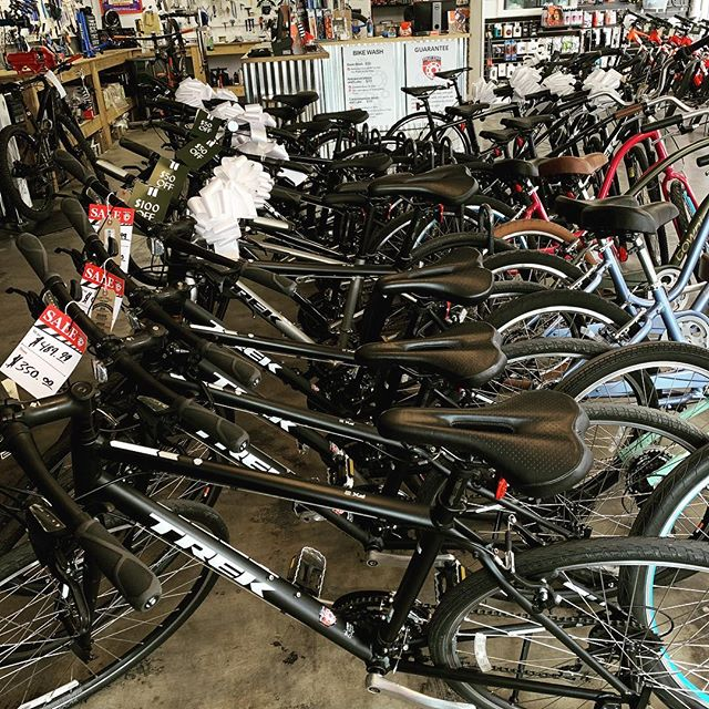 Save money on your next bike by taking advantage of our sale!! Every bike is on sale!! Save up to $400!  6 days left until Christmas Day!! #trekbikes #santacruzbicycles #salsacycles #oztrails #bikenwa