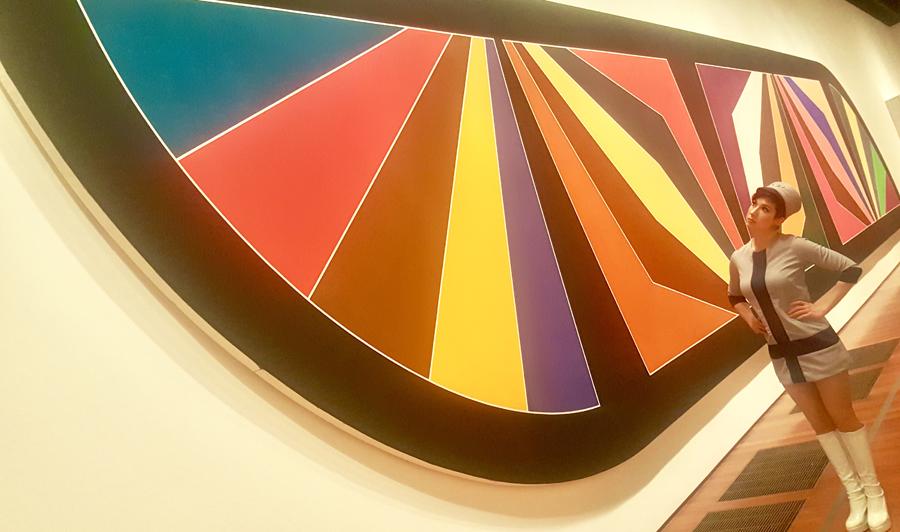 Frank Stella A Retrospective, de Young Museum
