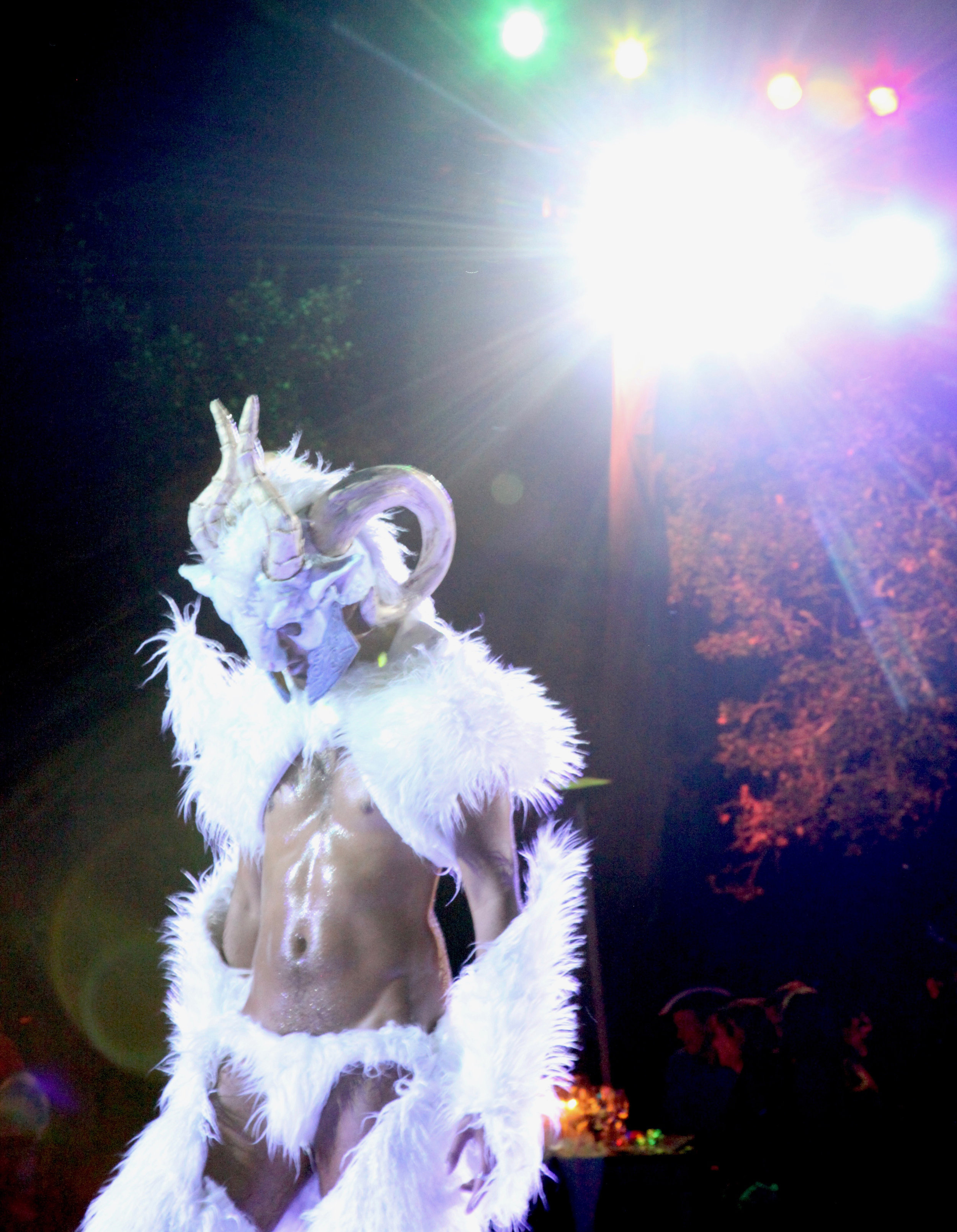Ice Satyr at Neverland Event