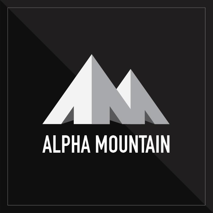 Alpha Mountain Logo/Branding