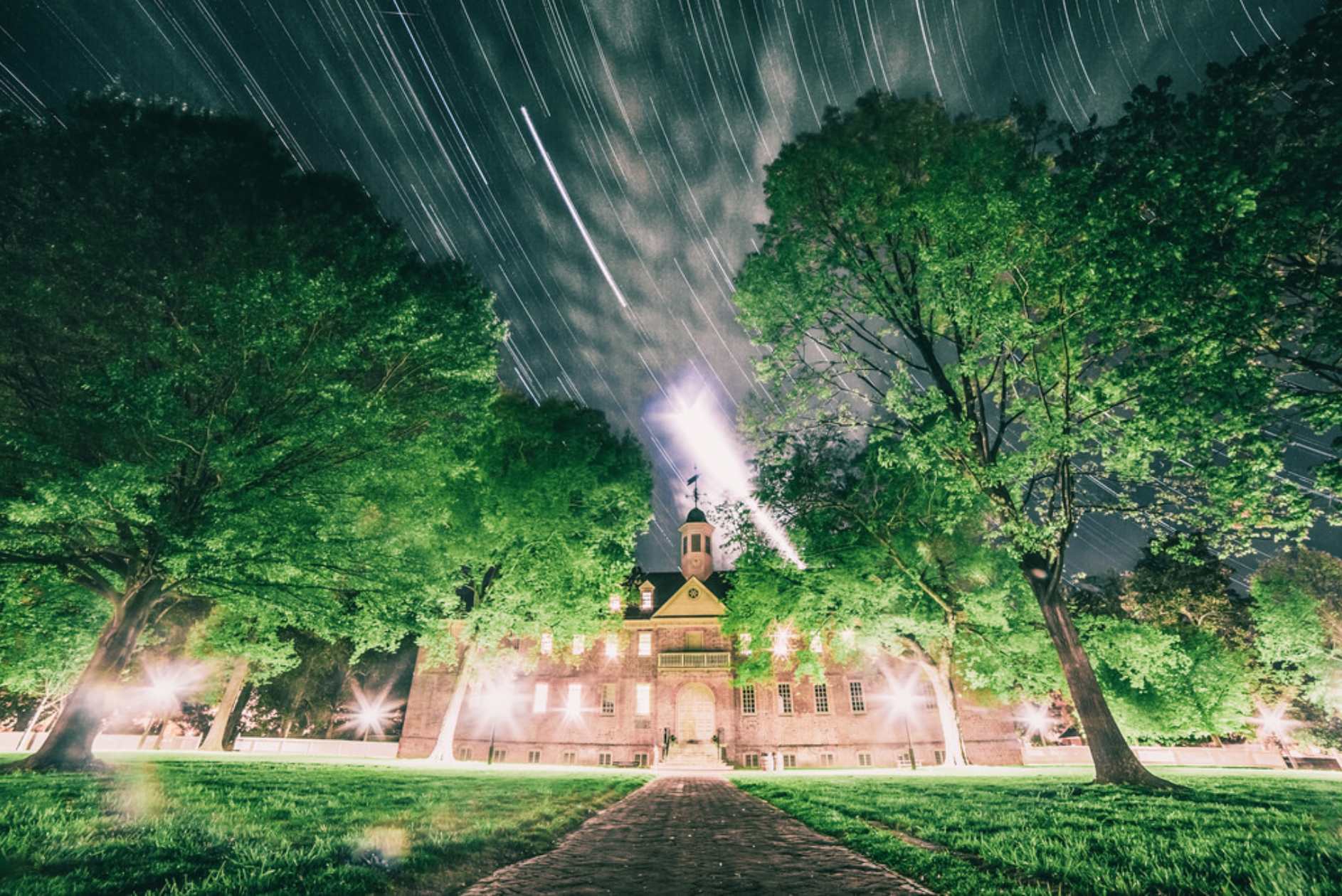The historic Christopher Wren Building at the College of William & Mary, credit Danny Rosenberg
