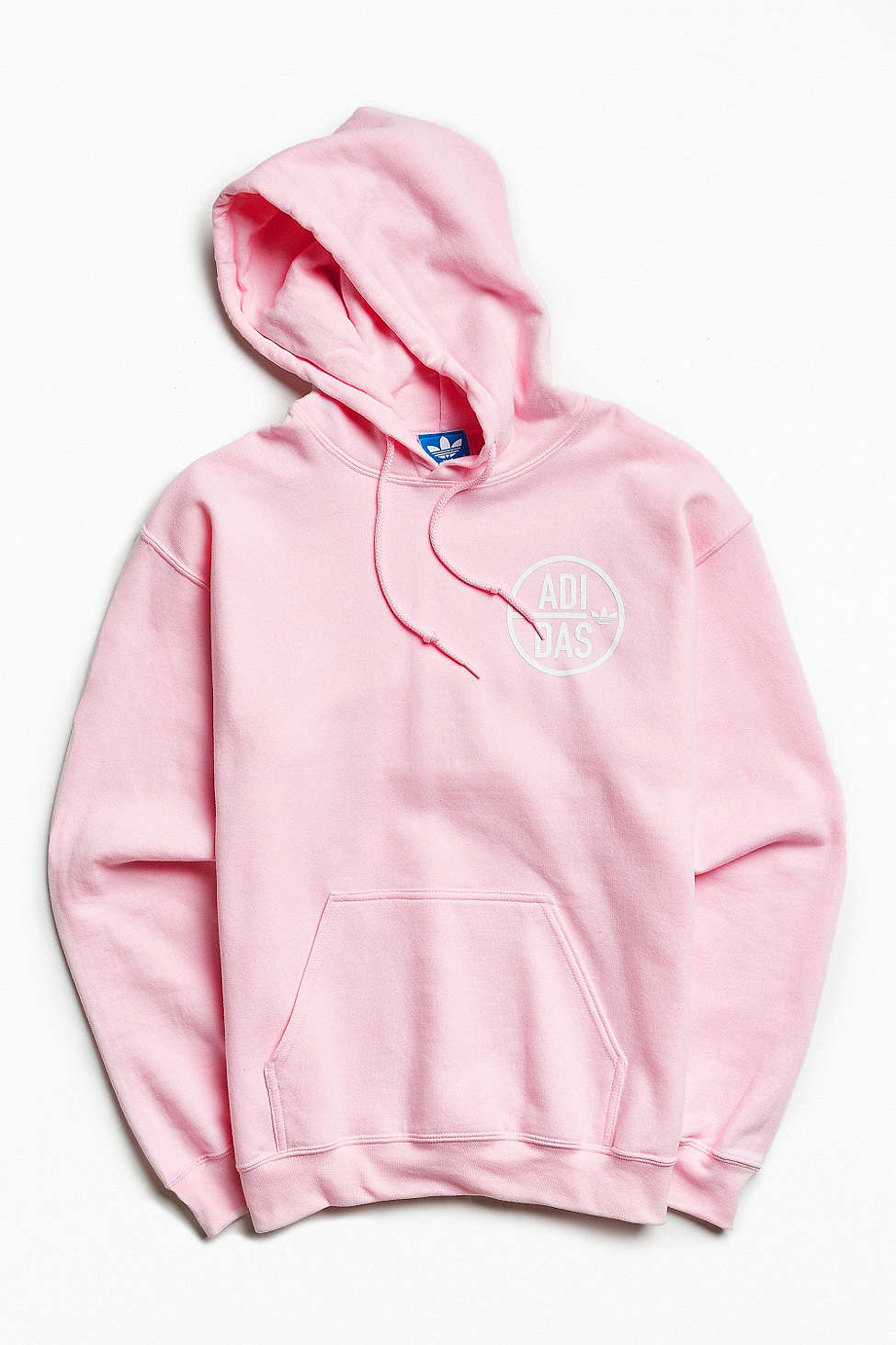 Pink Adidas Hoodie from Urban Outfitters
