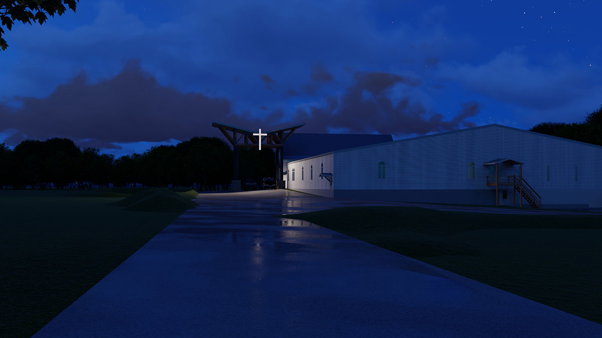 OPTION 2_ABC - NIGHT VIEW - APPROACH LOOKING EAST.jpg