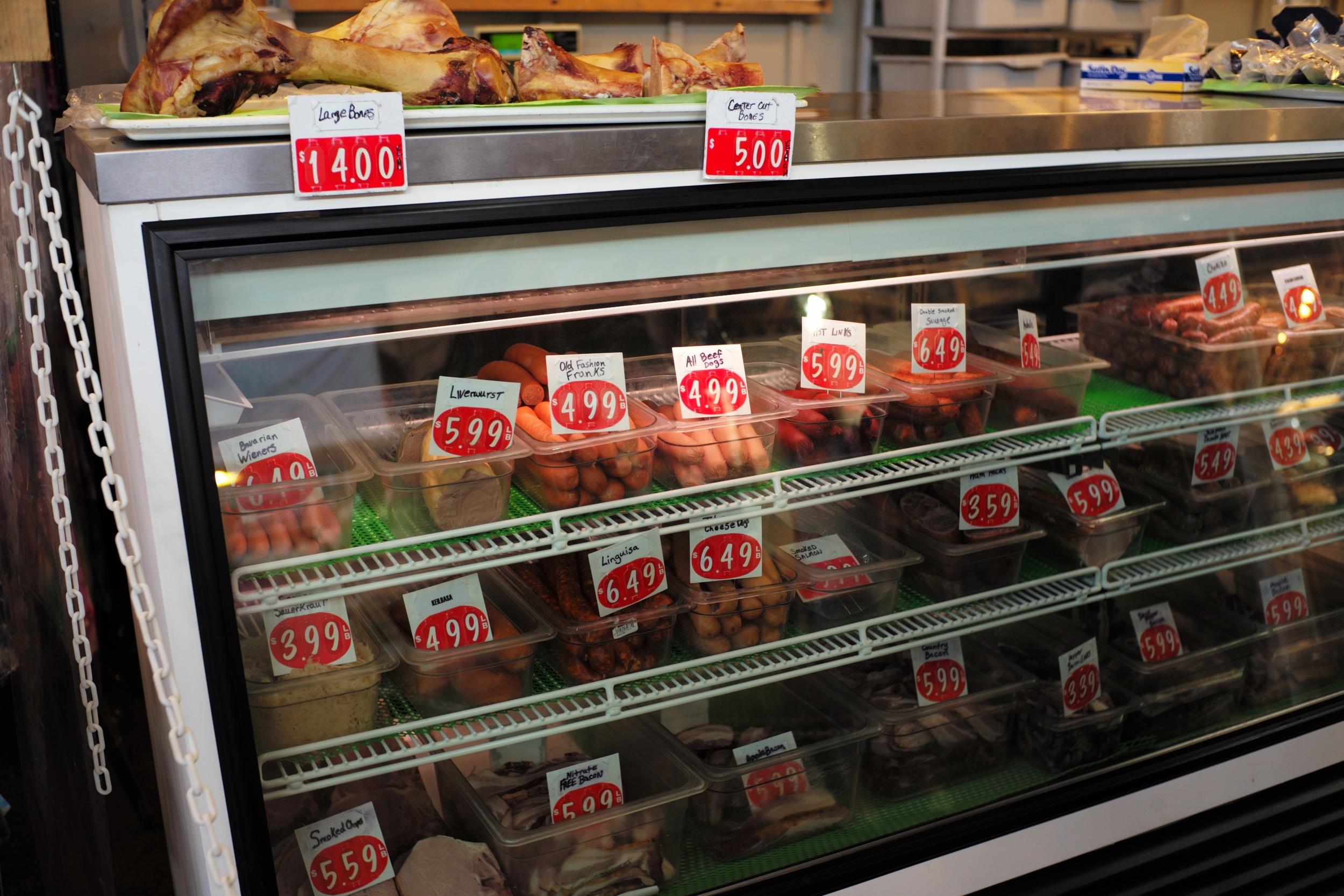 Meats at Market, Olympia, WA 2016