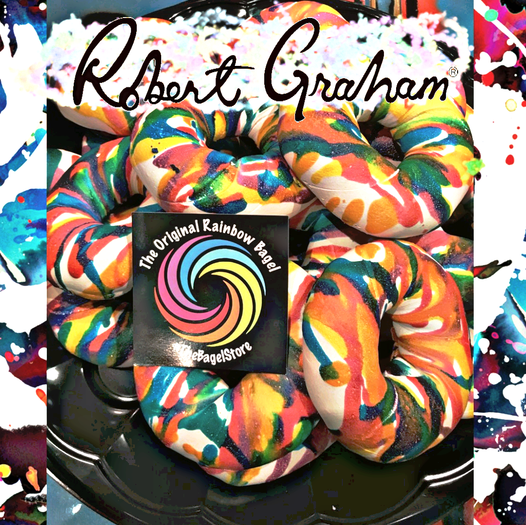 robert graham custom bagel art