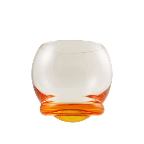 ORANGE WOBBLE CRYSTAL WINE $1.00