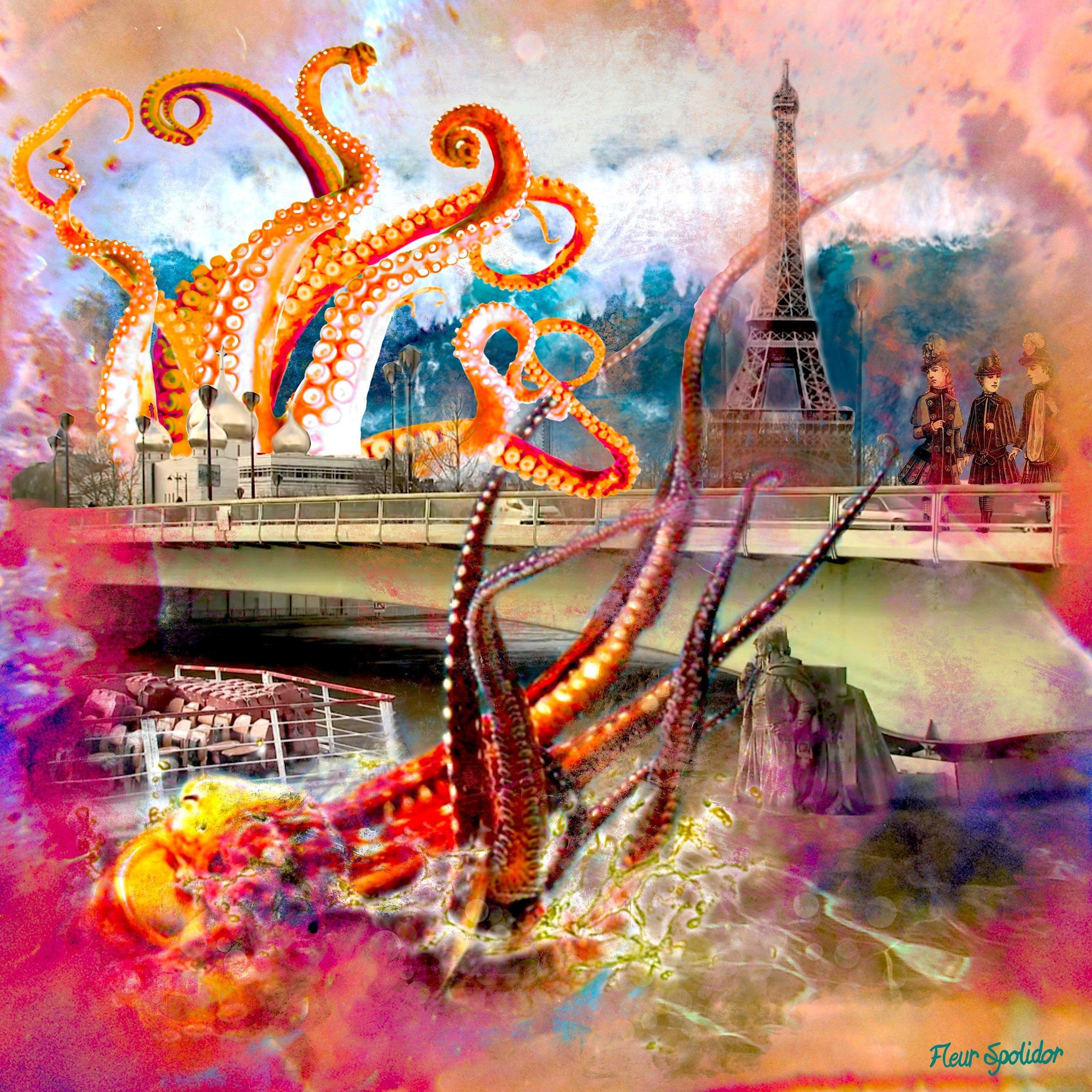 """""""Le Zouave du pont de l'Alma"""" Digital Manipulation"""""""