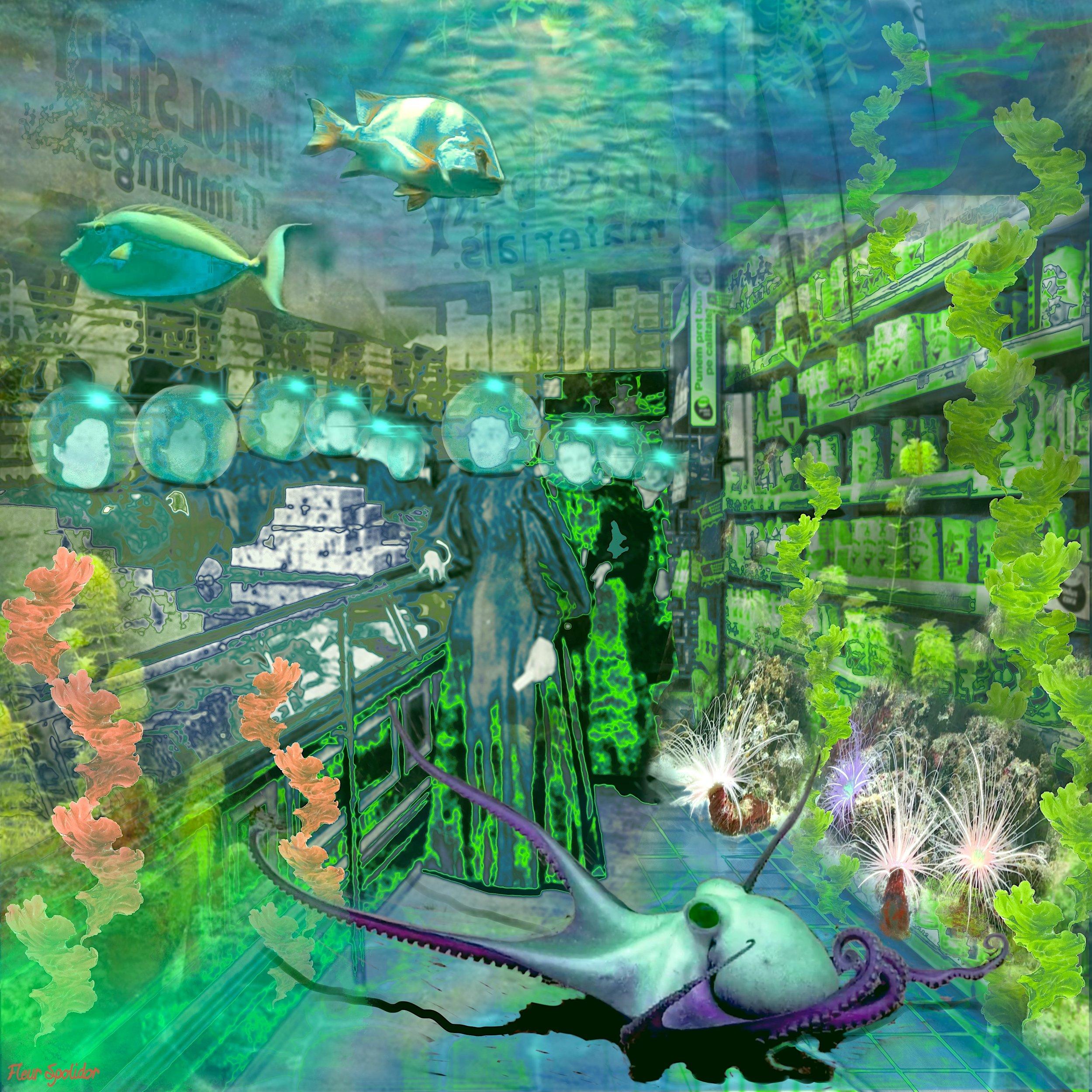 """Underwater Shopping"""