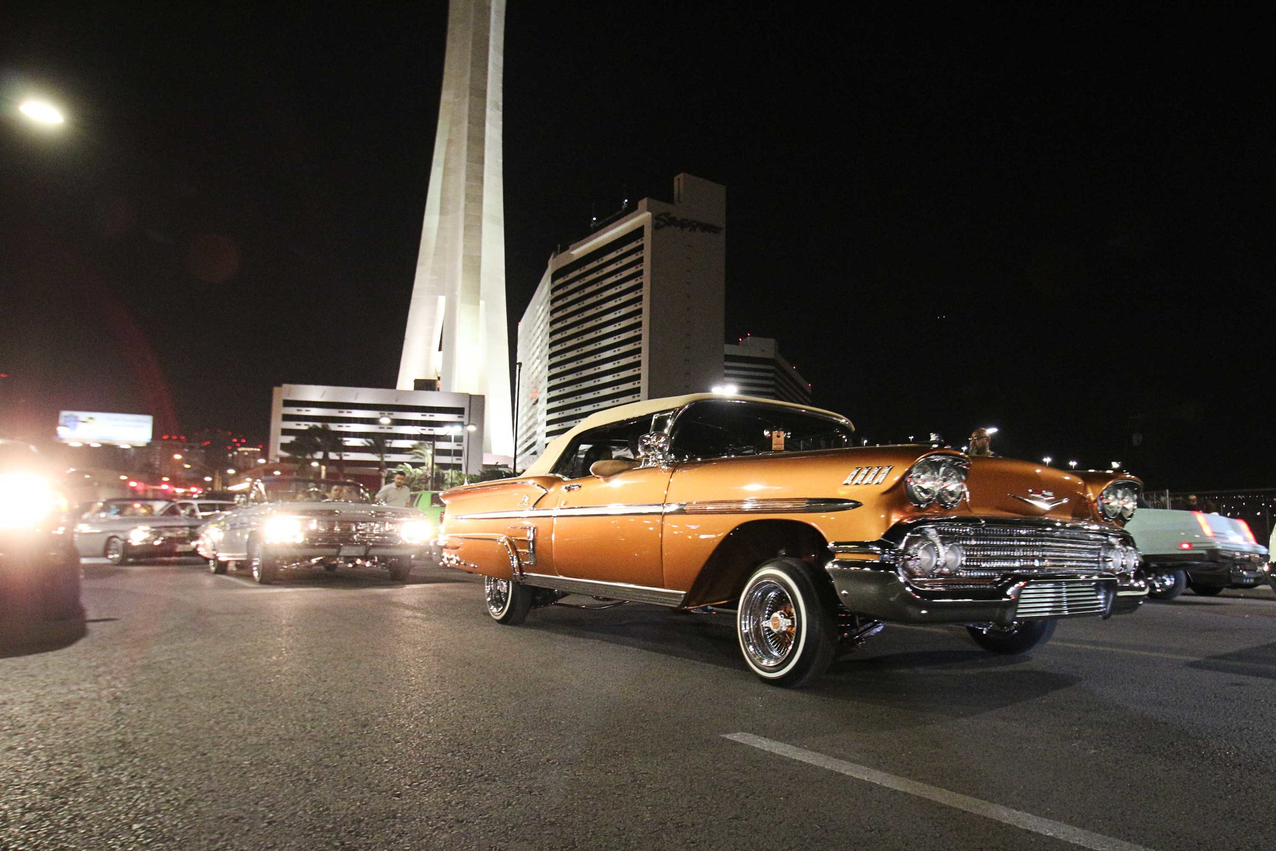 Lowrider Super Show - After cruise down LV BLVD