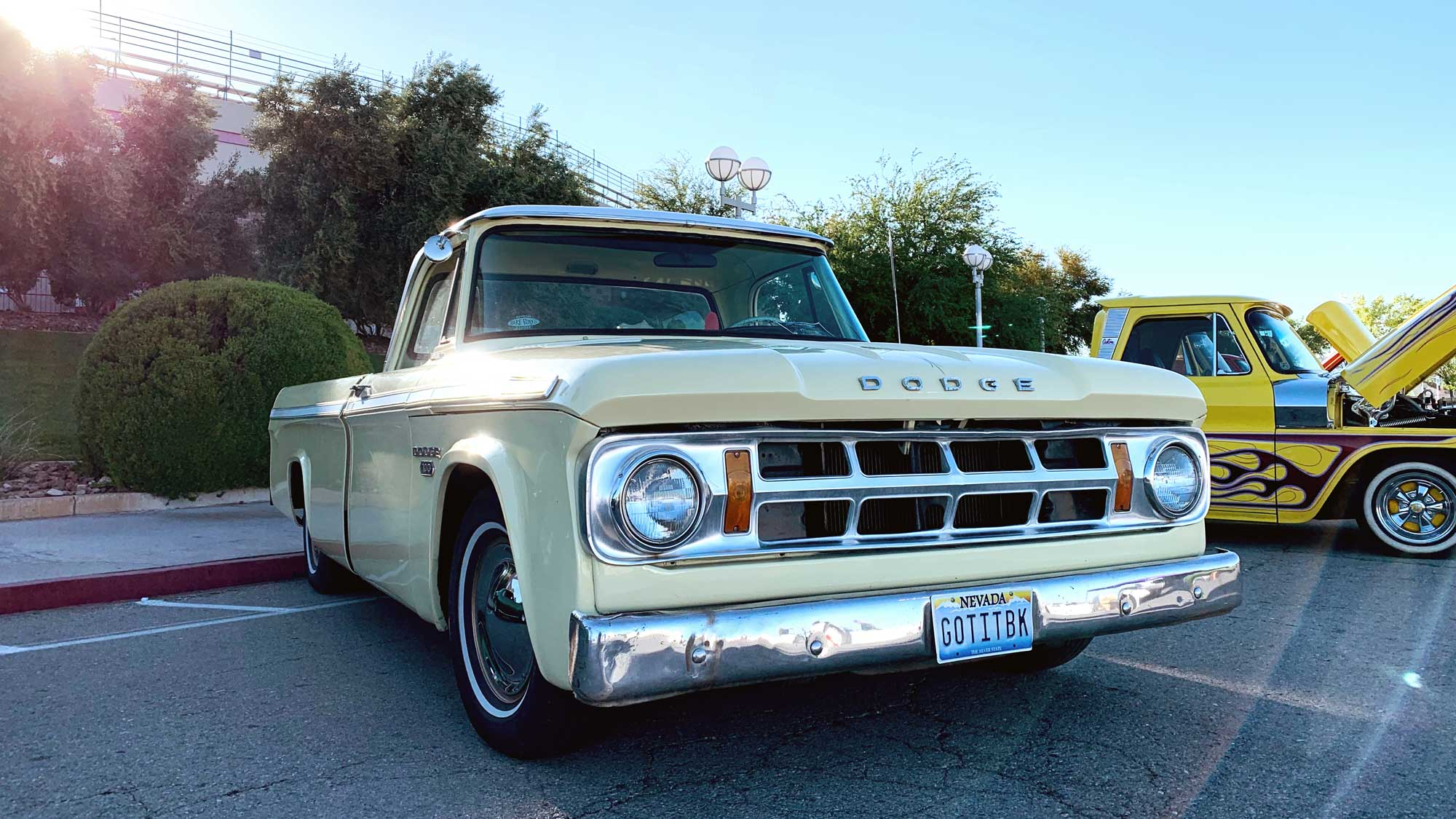 The Real Joey Bag of Donuts - 1968 Dodge D100 from Bare Bones CC
