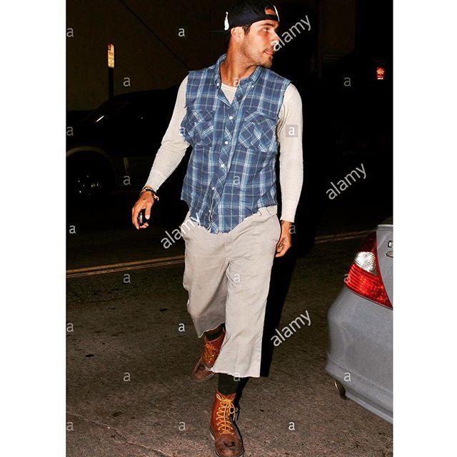 bad boy walks into hollywood n says ... #benz #cls #mtv #thehills #redwing #boots #FU