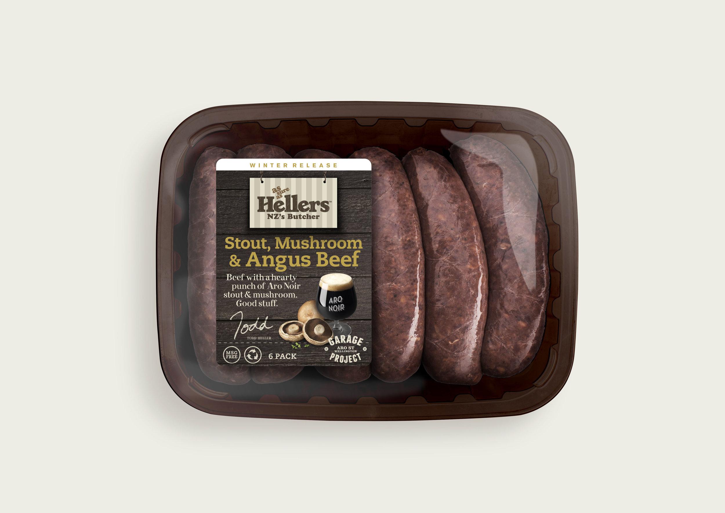 Hellers Seasonal Sausages