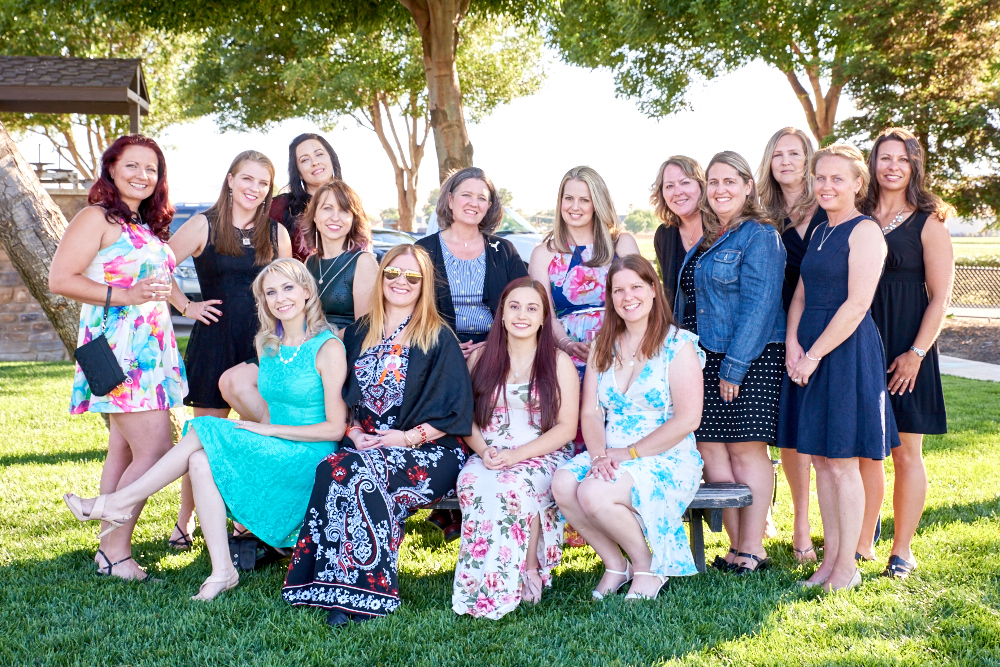 The Warrior Mamas who attended the 2017 Brentwood Mama's Night Out.