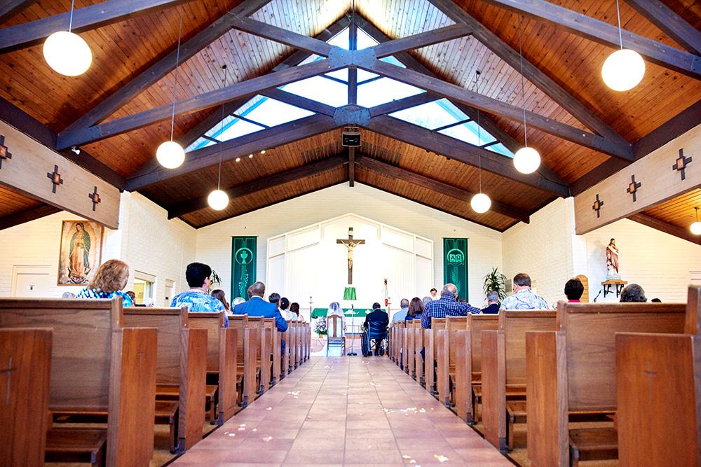 ©2017KrystalCraven - Wedding Ceremony at Catholic Church