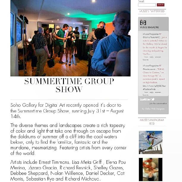 GROUP SHOW SOHO ART HOUSE