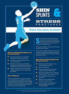 Shin SPlints & Stress Fractures
