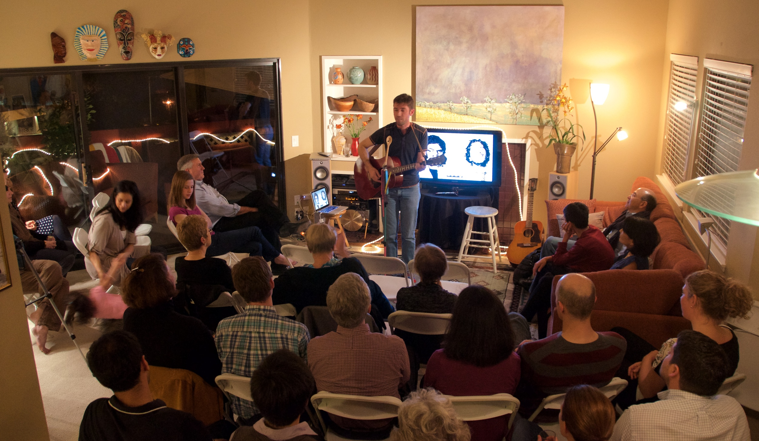 Live in Palo Alto, March 2015