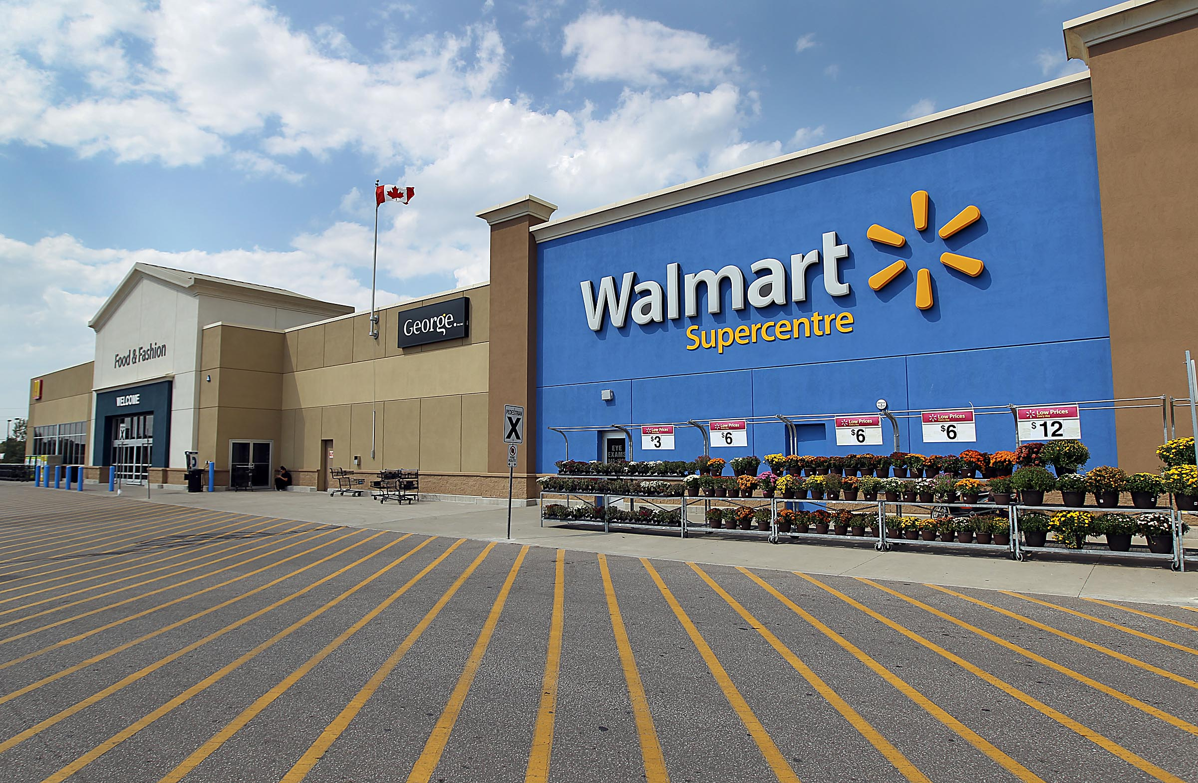 Wal-Mart in New Liskeard, Ontario*