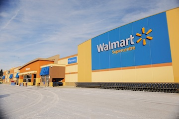 Wal-Mart in Moose Jaw*