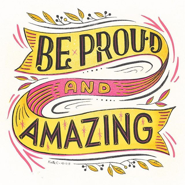 To all the badass ladies 🙌 Always be proud of yourself, because you are simply Amazing!!!💛💖💛