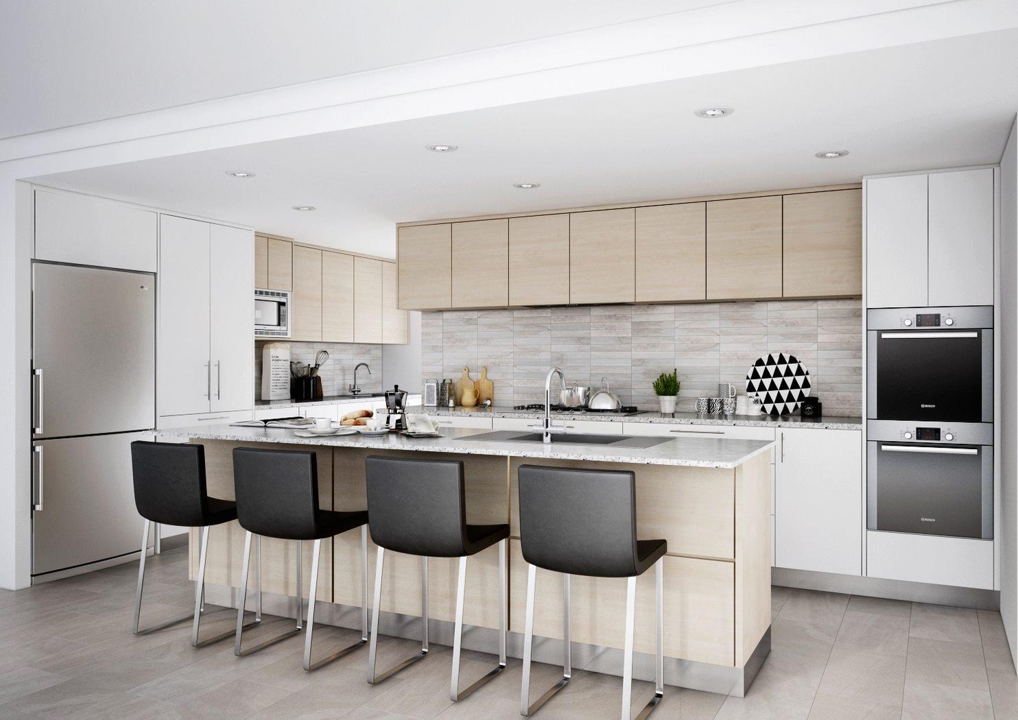 get kitchen 3d visualised - interior design services