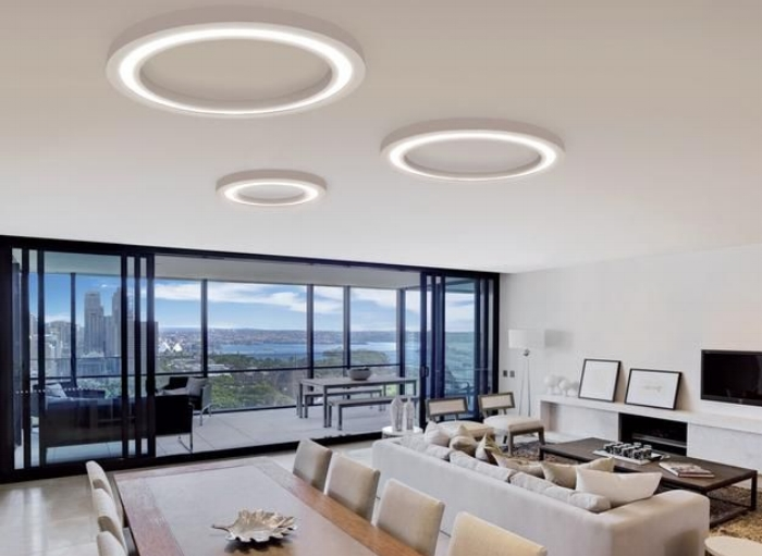 flat lighting is OK for offices not for your home interiors