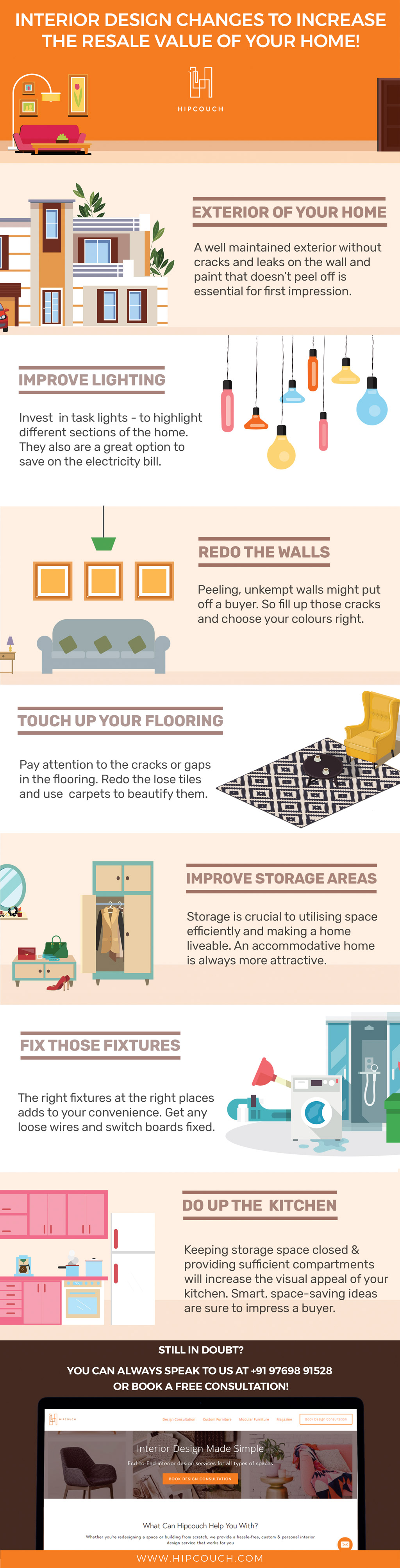 10 Hacks To Make Your Home Look Glam!