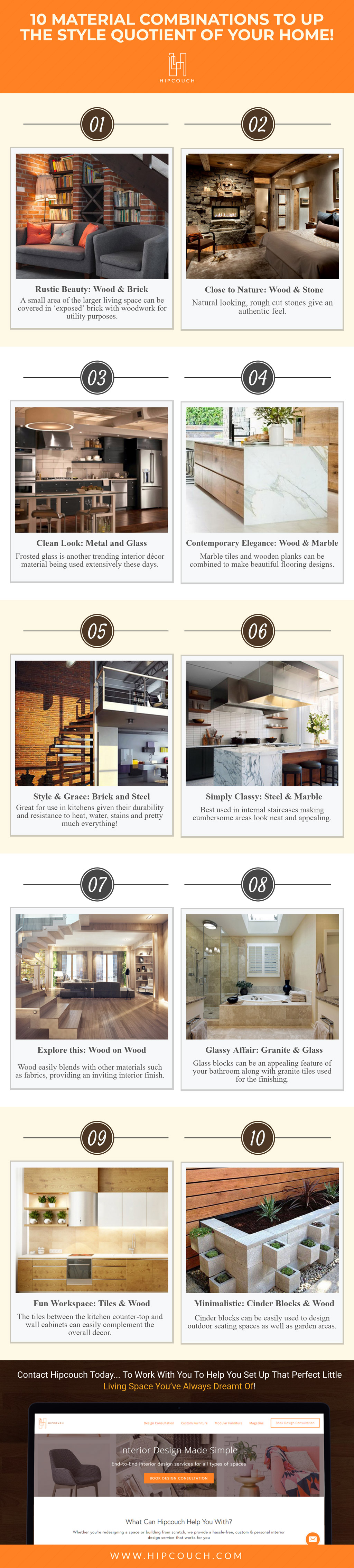 10 Winning Material Combinations For A Stylish Abode!