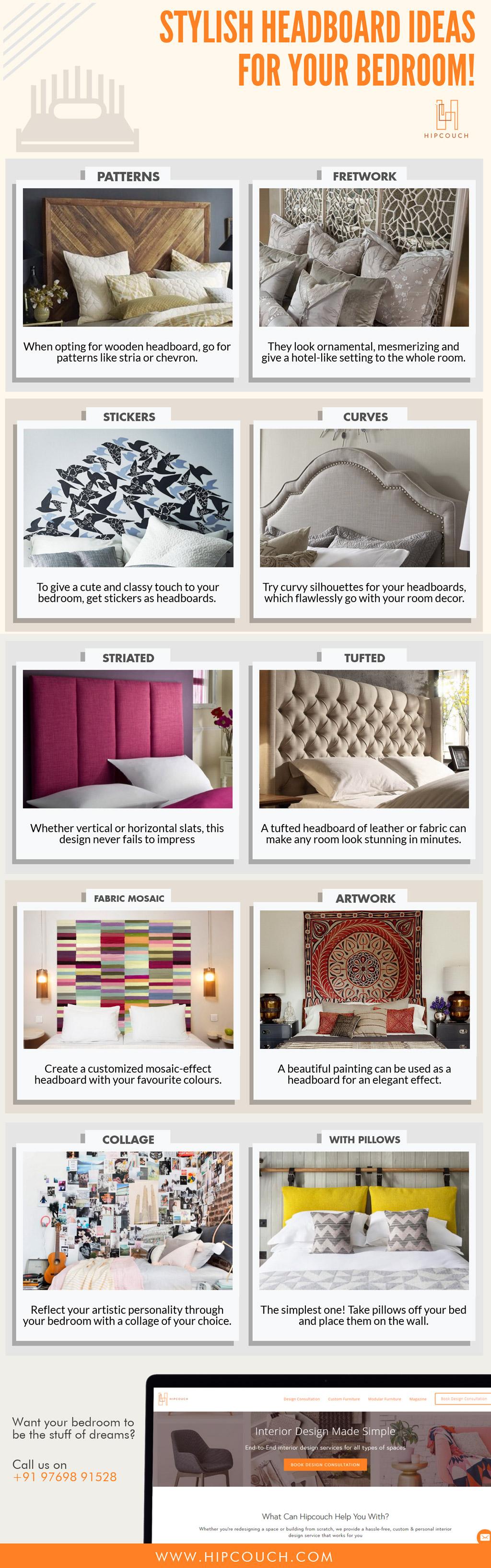 Stylish Headboard Ideas For Your Bedroom!