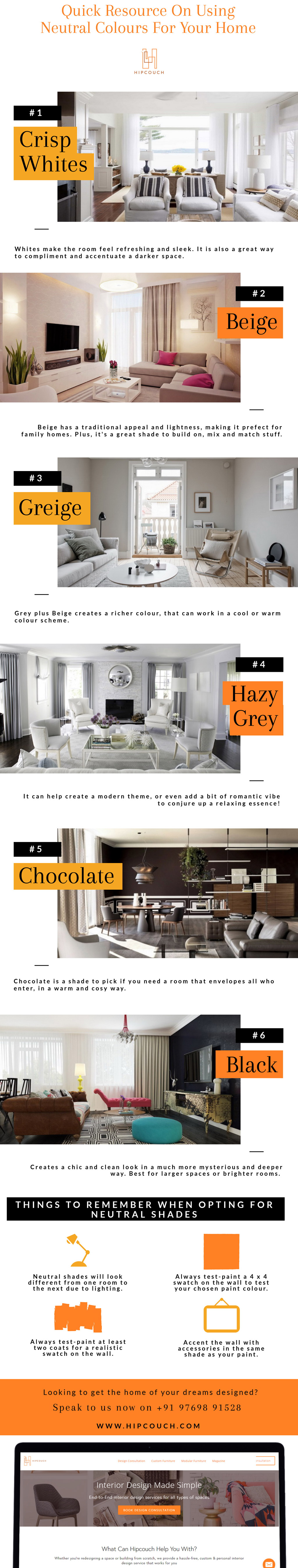 Using Neutral Colours Correctly For Your Home