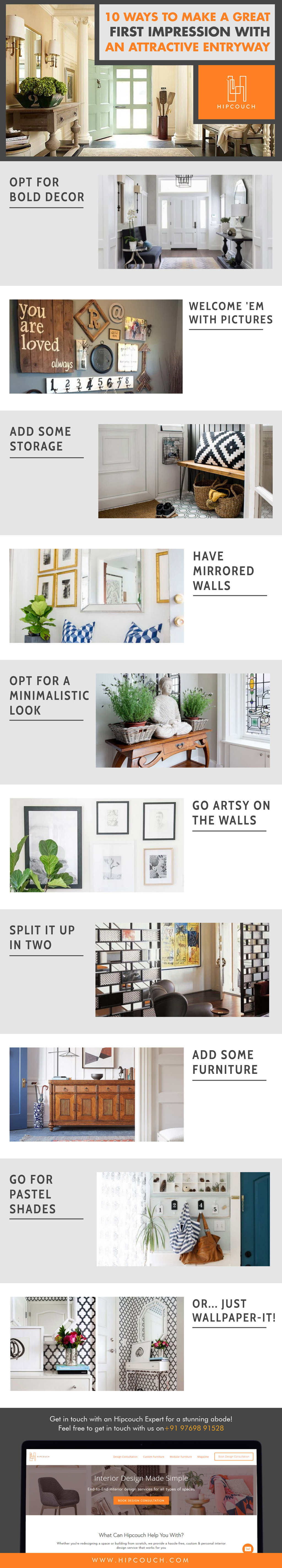 Make A Great First Impression With An Attractive Entryway!