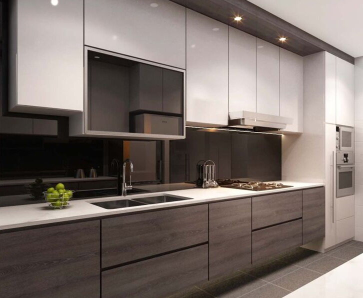 Acrylic Vs Pvc Laminate What Is The Best Choice For Your Kitchen Cabinets Hipcouch Complete Interiors Furniture
