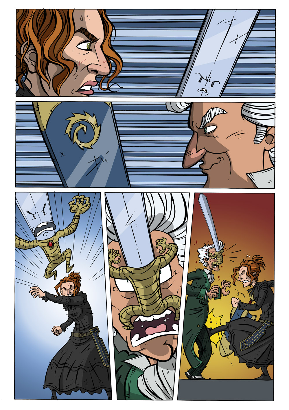 99 Swords #4 pg 1