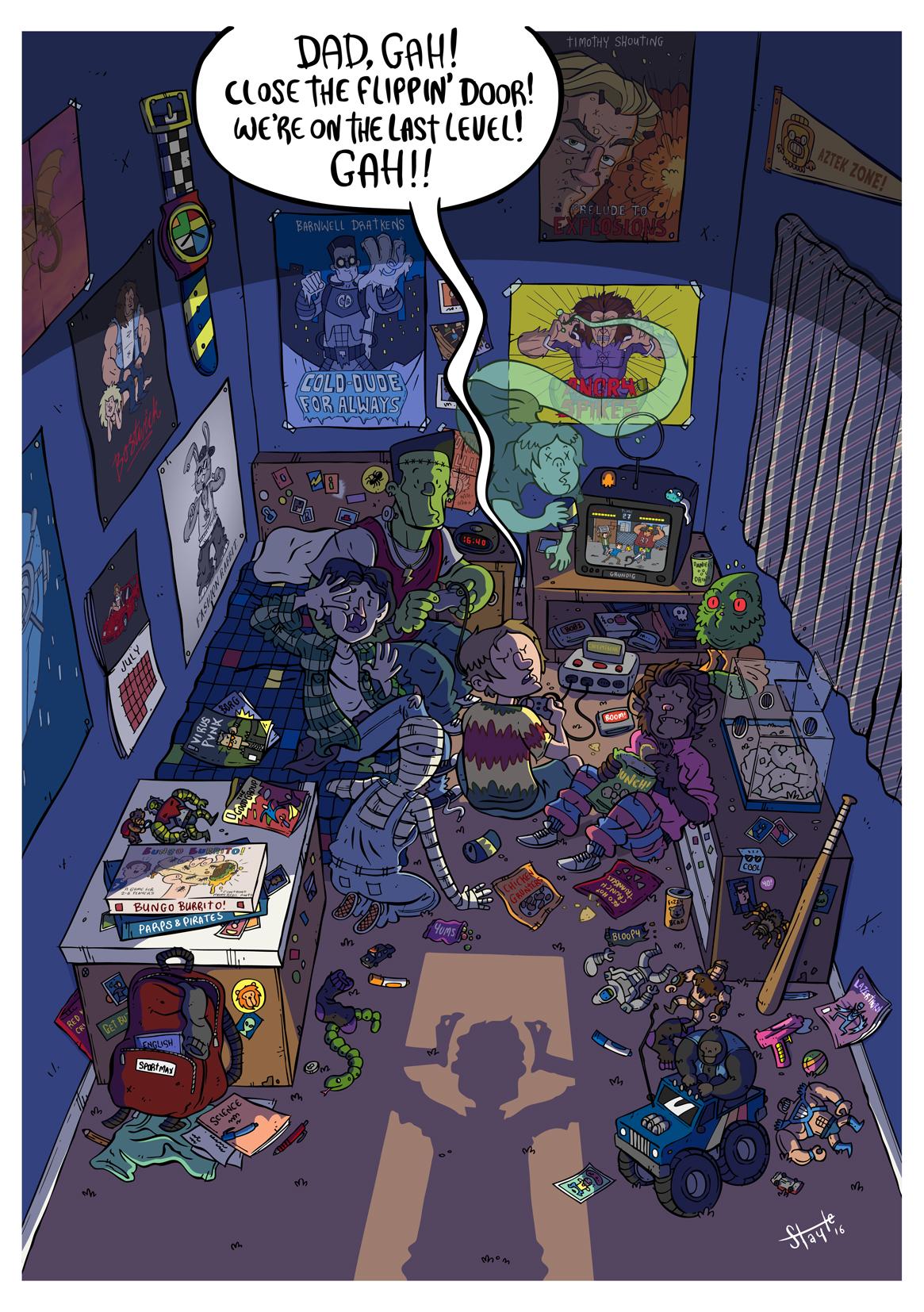 The Creepy Freak After-School Club.